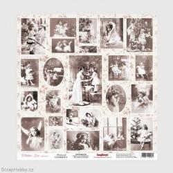 Jednostranný papír - Winter Joy - Postcards