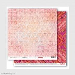 Oboustranný papír - Nature´s Spirit - Tribal textures