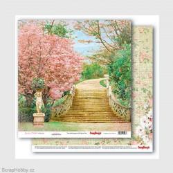 Oboustranný papír - Garden of Delights - Secret Garden