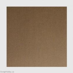 Cardstock papíry - Tmavě hnědá