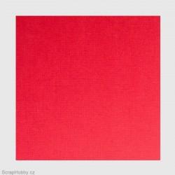 Cardstock papíry - Červená