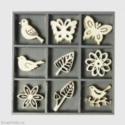 Ptáčci, motýlci, kytičky.....