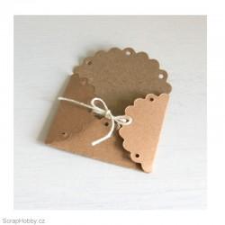 Obálky recyklované malé - 50 ks
