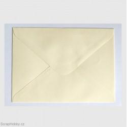 Obálky smetanové obdelníkové