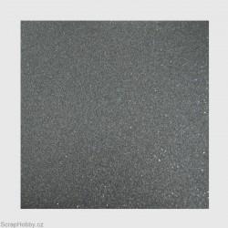 Papír se třpytkami - černý