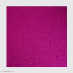 Papír se třpytkami - fialový