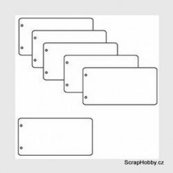 Album obdelníkové - 20 x 10 - 5 listů