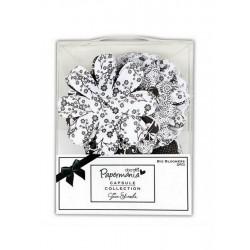 Scrapbooking - Kytičky velké Capsule Beckley Black