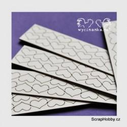 Chipboard - Srdíčka - 100ks