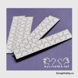 Chipboard - Srdíčka - 3. - 100ks.