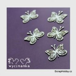 Motýlci - 5 ks
