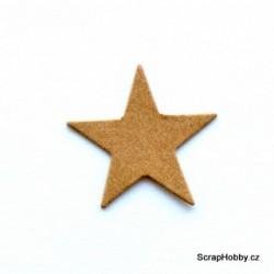 Hvězdičky - 2,5 cm - 100 ks