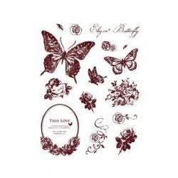 Scrapbooking - Razítka - Motýlci, květiny......
