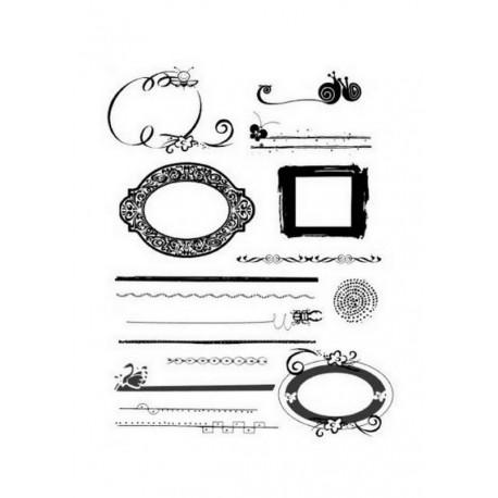 Scrapbooking - Razítka - Ornamenty, rámečky....