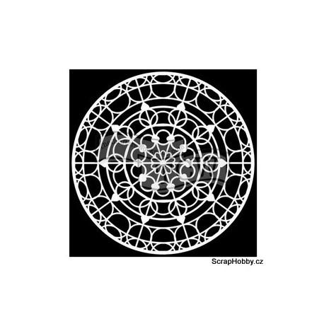 Šablona - Mandala Skylight - 15,24x15,24