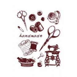 Razítka - Nůžky, šití, handmade....