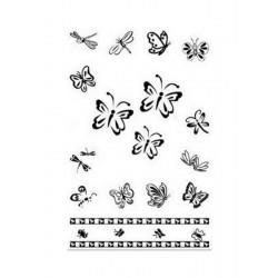 Scrapbooking - Razítka - Motýlci