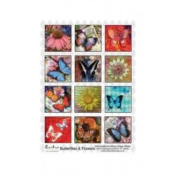 Scrapbooking - Motýli a květiny.