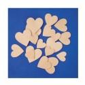Dřevěné srdce střední - 4cm