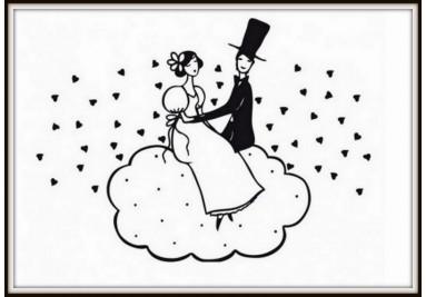 Svatba na obláčku